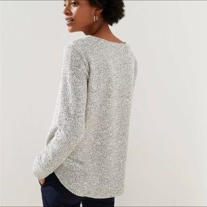 LOFT Crew Neck Knit Sweater